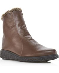Arche - Women's Joelys Leather & Faux-fur Boots - Lyst