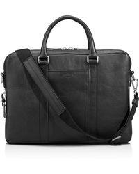Shinola Slim Commuter Briefcase - Black