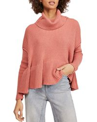 Free People Layer Cake Sweater - Multicolor