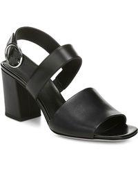 da752dfb74b5 Via Spiga - Women s Evelyne Block Heel Sandals - Lyst. Tory Burch ...