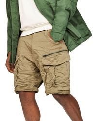 G-Star RAW - Rovic Loose Fit Cargo Shorts - Lyst