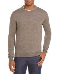 Bloomingdale's The Store At Bloomingdale's Merino Crewneck Sweater - Gray