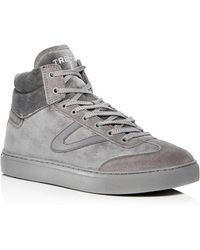 Tretorn - Men's Jack Corduroy & Suede High Top Trainers - Lyst