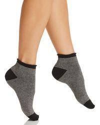 34e59198634 Lyst - Kate Spade New York Women s Scuba Striped Knee-high Socks in Blue