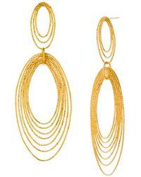 Gorjana - Presley State Drop Earrings - Lyst