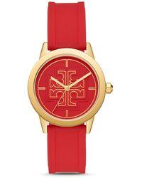 Tory Burch - Gigi Silicone Strap Watch - Lyst