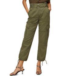 Whistles Cargo Military Trouser - Green