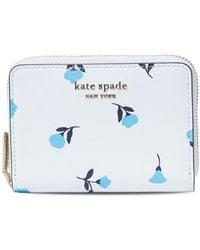 Kate Spade Spencer Leather Zip Card Case - Multicolor