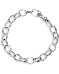 Lagos Sterling Silver Links Bracelet - Metallic