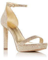 MICHAEL Michael Kors Margot High Heel Sandals - Natural