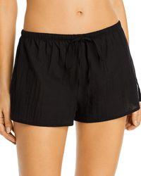 Skarlett Blue Innocent Cotton Lounge Shorts - Black