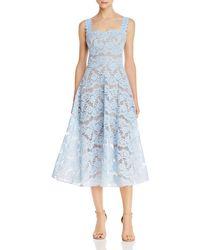 Bronx and Banco Skye Midi Dress - Blue