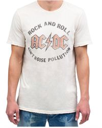 Junk Food Ac/dc Ain't Noise Pollution Tee - White