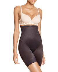 Tc Fine Intimates Hi-waist Control Shorts #4099 - Black