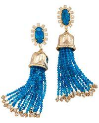 Kendra Scott - Decker Bell Tassel Drop Earrings - Lyst