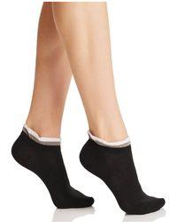 Hue - Ruffle Shortie Socks - Lyst