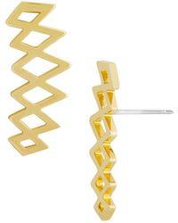 BaubleBar - Andare Ear Crawler Earrings - Lyst