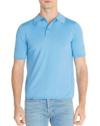 b03ce10df Sandro - Pablo Regular Fit Polo Sweater - Lyst