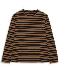 Barena Luigi Rugo Striped Long Sleeve Tee - Multicolour