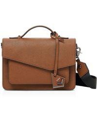 Botkier Cobble Hill Leather Crossbody - Brown