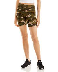 Aqua Bike Shorts - Green