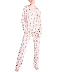 Pj Salvage Printed Pajama Set - Pink