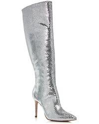 Aqua Women's Indiala High - Heel Tall Boots - Multicolor