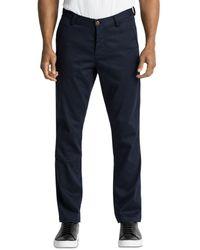Wings + Horns Regular Fit Field Trousers - Blue