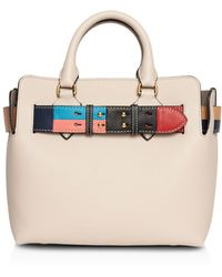 Burberry - Belt Detail Tote - Lyst