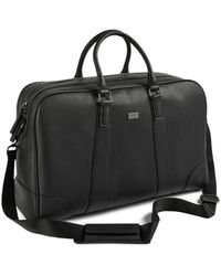Ted Baker Ripleey Textured Holdall Briefcase - Black