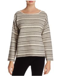 Eileen Fisher - Striped Top - Lyst
