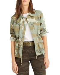 Sanctuary Morgan Camo Print Jacket - Green