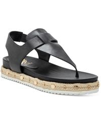 Vince Camuto Women's Aeronta Slingback Thong Sandals - Black