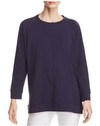 Eileen Fisher - Relaxed Sweatshirt - Lyst