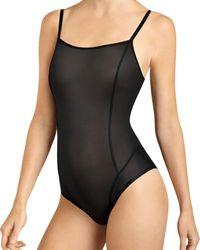 Item M6 All Mesh Shape Bodysuit - Black
