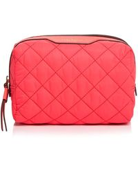 Tory Burch - Perry Quilted Nylon Cosmetics Case - Lyst
