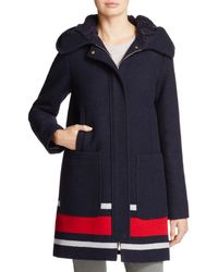 Vince Camuto - Striped Coat - Lyst