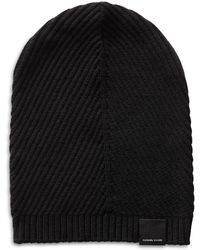 Canada Goose | Contour Ribbed Knit Wool Beanie | Lyst