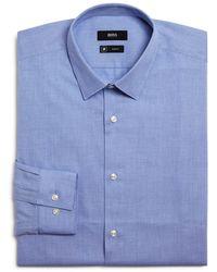 BOSS - Isko Slim Fit Dress Shirt - Lyst