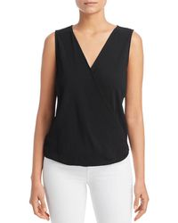 Status By Chenault - Ribbed Wrap - Front Tank - Lyst