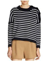 Maje - Market Stripe Sweater - Lyst