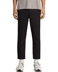 AllSaints - Kato Slim Fit Trousers - Lyst