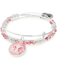 ALEX AND ANI - Butterfly Expandable Bracelets - Lyst