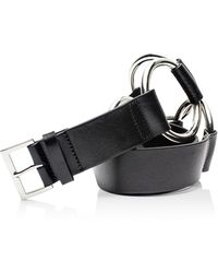 Zadig & Voltaire - Circle Leather Belt - Lyst