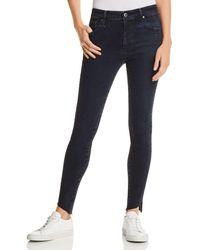 AG Jeans - Farrah Ankle Skinny Jeans In Yardbird - Lyst