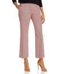 10 Crosby Derek Lam Galen Gingham Trousers - Pink
