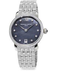 Frederique Constant Slimline Watch - Multicolour