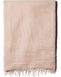 Chan Luu Fringed Cashmere & Silk Scarf - Multicolour