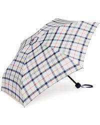 Barbour Lilburn Plaid Umbrella - Multicolor