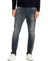 Scotch & Soda Ralston Slim Fit Jeans In Concrete Bleach - Blue